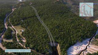 Nye Veier sitt planforslag for strekningen E18 Langangen-Rugtvedt